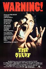 The Stuff 1985 Cult/Horror Classic Movie POSTER