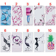 Butterfly Birds Wallet Leather Flip Case Cover Stand For iPod Touch 5 5th/6 6th