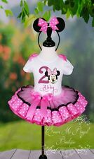 Minnie Mouse Tutu, Minnie Mouse Birthday Outfit, Minnie Mouse Dress