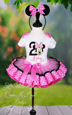 Minnie Mouse Birthday Outfit, Minnie Mouse Tutu, Minnie Mouse Dress