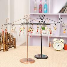 Earring Ring chain Bangle T-shape Display Stand Holder Jewelry Show Case Rack