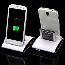 Galaxy S4 Sync Dual Dock Station Hot Phone Samsung Stand Battery Charger Cradle