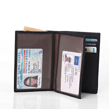 Men's Luxury High Quality Leather Business Wallet ID/Credit Card Case Holder