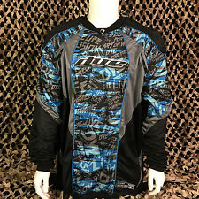 NEW Dye C12 Padded Tournament Paintball Jersey - Tiger Blue - XX-Large/XXX-Large