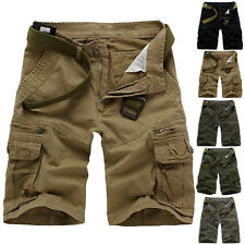 NWT Mens Shorts Stylish Army Cargo Combat Camo Casual Sports Pants Trousers