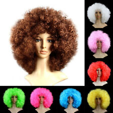 Afro Funny Curly Clown Circus Cosplay Hair Costume Wig Fancy Ball Dress Up Party