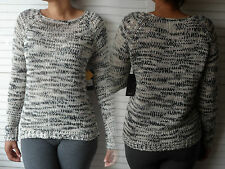 NEW WOMANS LADIES MID WEIGHT LIGHT CABLE KNIT JUMPER PULLOVER BEIGES BROWNS
