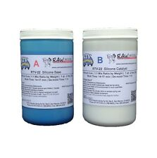 RTV-22 - 1:1 Mix Platinum Cure Mold Making Silicone 22A Durometer #1 Worldwide