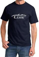 Jaguar E Type Convertible Classic Sports Car Design Tshirt NEW FREE SHIP