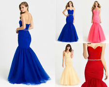 New Wedding Formal Prom Dresses Party Evening Pageant Bridesmaid Dress Ball Gown
