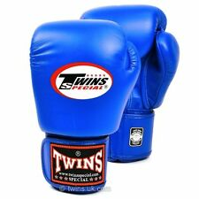 Twins Blue Boxing Gloves Muay Thai Boxing Gloves Twins Special UK Seller