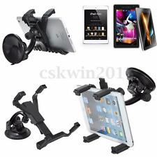 360°Car Windscreen Mount Holder Stand Bracket Cradle For 7-10.1'' Inch Tablet