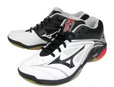 Mizuno JAPAN Badminton Shoes Wave Fang SS Speed Style MID 71GA1511 White Black