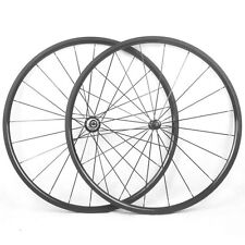 24mm Clincher Carbon Wheels Racing Bicycle Straight Pull 700C Road Bike Wheelset