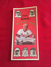 1987 MLB St. Louis Cardinals media guide / NL champions / Clark / McGee / Smith
