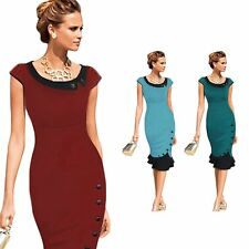 Women Ladies New Bandage Bodycon Slim Evening Party Ball Pencil Cocktail Dress