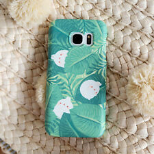 Cute Molang Phone Hard Back Skin Case Cover for Smart Phone - Palm tree