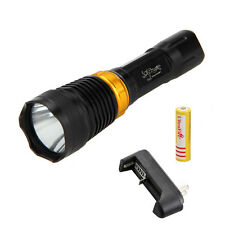 Underwater 5000LM CREE XML T6 LED Diving Flashlight Torch 18650 Lamp Waterproof