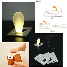 Portable Pocket LED Card Light Lamp Put In Purse Wallet Convenient Light
