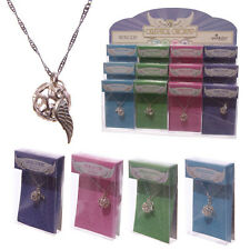 CELESTIAL ANGEL CHARM NECKLACE