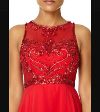FOREVER UNIQUE NEW RED CHARITY  PROM DRESS UK SIZE 10, 12 PARTY DRESS