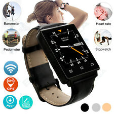 Bluetooth Smart Watch Phone GSM SIM WiFi GPS For Android iPhone Samsung HTC LG
