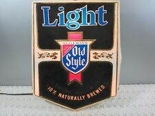 Old Style Beer Bar Lighted wall Sign