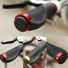 1 Pair Mountain Bicycle Bike Cycling Lock-On Handlebar Hand Bar End Grips USShip