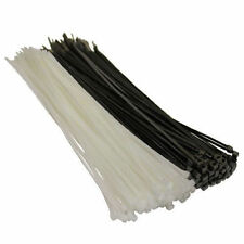 Black / Natural Cable Ties VARIETY of 100,140, 200, 300, 370, 540, 780, 1030mm