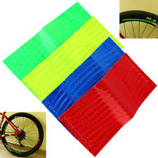 MTB Bicycle Mountain Bike Reflector Cycling Wheel Rim Reflective Tape Stickers