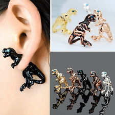 Lady New Gothic Punk Rock Temptation Dinosaur Dragon Ear Wrap Cuff Clip Earring