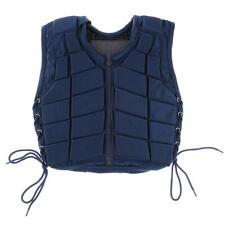 Kids /ADULT Safety Horse Riding Vest Equestrian Body Protective Gear Navy NEW
