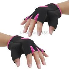 Unisex Half Finger Gloves Gym Sport Fingerless Gloves Bike Bicycle Cycling