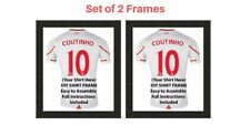 2 x Frame for Football, Rugby and Cricket shirt | Ready Made Shirt DIY Frame