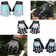 Outdoor Cycling Motorcycle MTB Bike Bicycle Riding Gel Palm Half Finger Gloves