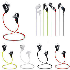 Wireless Bluetooth SPORT Stereo Headphone Headset Earphone for iPhone Samsung LG