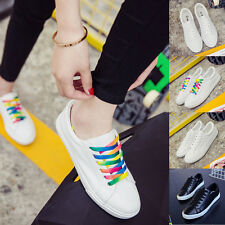 Fashion Women's Casual Breathable Low Tops Shoes Lace Up Pumps Sneakers Shoes