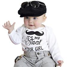 Infant Baby Long Sleeve Rompers Jumpsuit Bodysuit One Piece Clothes 0-24 Months
