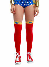 DC Comics Wonder Woman Costume Cosplay Tights Pantyhose Nylons S/M OR L/XL NEW