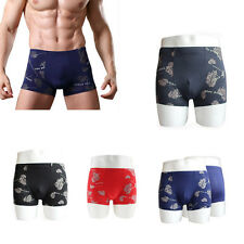 Men's Trunks Sexy Underpants New Shorts Pouch Bulge Soft Boxer Briefs Underwear