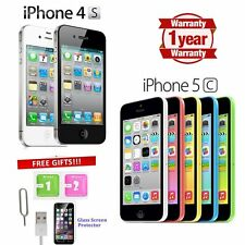 Apple iPhone 4s 5 5C 8GB 16GB 32GB 64GB Factory Unlocked Smartphone Mobile UK