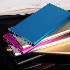 50000mAh External Ultrathin Power Bank LED Dual USB Battery Charger For iPhone