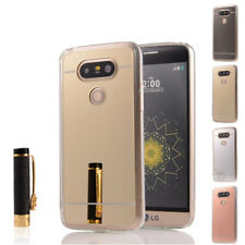 Luxury Ultra-Thin Mirror Silicone Gel TPU Protective Case Skin Cover For LG G5