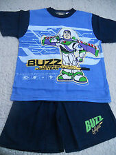 Boys Toy Story Buzz Lightyear short pyjamas Size 6 & 7    BNWT