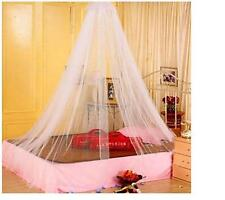 Girls Home Travel Lace Round Bed Dome Netting Mosquito Canopy Curtain Bedroom