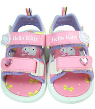 Sanrio Hello Kitty Sandals ~  Casual Shoes Toddler Size 9 - 10  (velcro) 3T - 4T