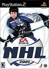 NHL 2001 PS2 SONY PLAYSTATION 2 DISC ONLY B3