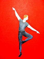 10 Male Ballet Dancer or 4 Coloured in Die Cuts, Ballet, Dancer. Any Colour/Card