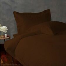 NEW CHOCOLATE 800TC EGYPTIAN COTTON COMPLETE BEDDING  SHEET SET,DUVET COVER