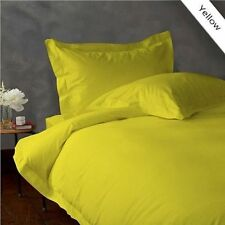 YELLOW  900TC EGYPTIAN COTTON COMPLETE BEDDING ,SHEET SET,DUVET COVER